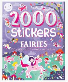 2000 Stickers Fairies - English