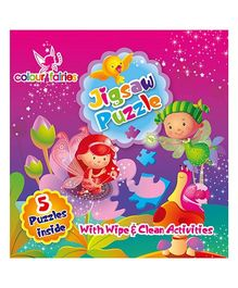 Colour Fairies Jigsaw Board Book - English
