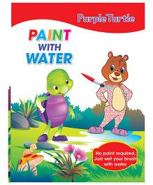 Paint With Water 2 Activity Book - English