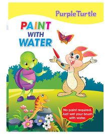 Purple Turtle Paint With Water