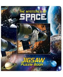 Purple Turtle Space Jigsaw Puzzle Board Book - English