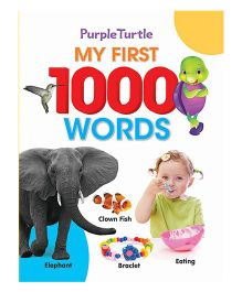 Purple Turtle My First 1000 Words Book - English