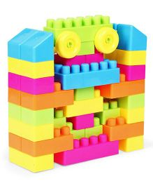 Playmate Building Blocks Multicolor - 45 Pieces