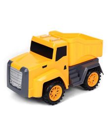 Playmate Friction Toy Dumpster - Yellow