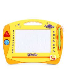 Playmate Magic Doodle Drawing Slate - Yellow