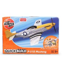 Airfix Funskool Quick Build Mustang - Yellow Grey