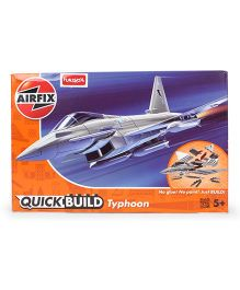 Airfix Funskool Quick Build Eurofighter Typhoon - Grey