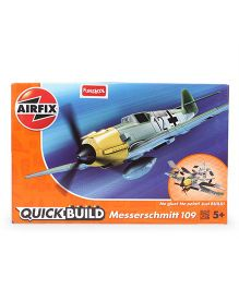 Airfix Funskool Quick Build Messerschmitt - Grey