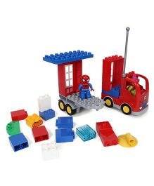 Lego Spiderman Truck Bricks Set - 28 Pieces