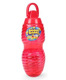 Comdaq Bubble Solution Bottle With Handle - Red