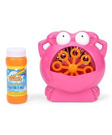Comdaq Battery Operated Bubble Crab With Fuel - Pink