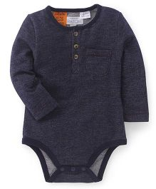 Pumpkin Patch Full Sleeves Onesie - Grey