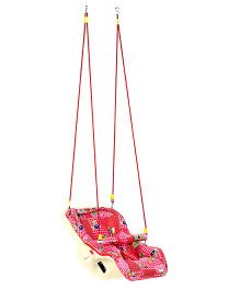 Infanto 7 In 1 Swing Bouncer Teddy And Floral Print 038 - Pink