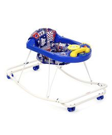 New Natraj 3 In 1 Walker Heart Print - Blue