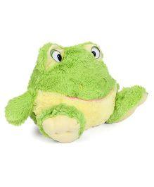 Starwalk Plush Frog Ball Shape Soft Toy Green - 23 cm