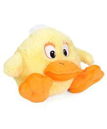 Starwalk Plush Duck Ball Shape Soft Toy Yellow - 23 cm