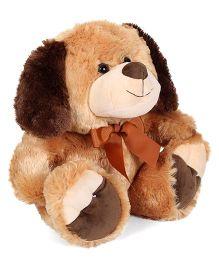 Starwalk Plush Dog Soft Toy Brown - Height 37 cm