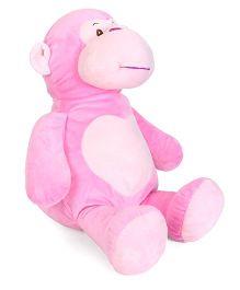 Starwalk Monkey Plush Soft Toy Pink - Height 46 cm