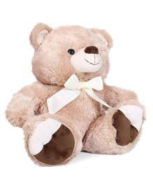 Starwalk Plush Teddy Bear Beige With Ribbon Bow - Height 37 cm