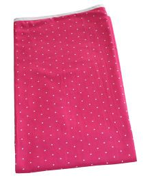 Kadambaby Double Layered Soft Jersey Baby Blanket Stars & Dots Print - Purple
