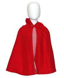 Kadambaby Little Red Riding Hood Reversible Poncho - Small