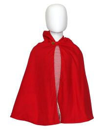 Kadambaby Little Red Riding Hood Reversible Poncho - Large