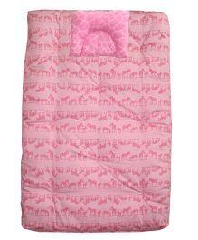 Kadambaby Premium Baby Bedding Set Zebra Theme - Pink