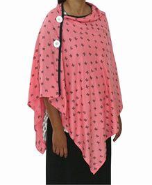 Kadambaby Breastfeeding Poncho - Pink