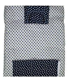 Kadambaby Soft Premium Baby Bedding Set Stars Print - Black & White