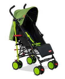 Fisher Price Lil' Traveler Pram Cum Stroller Green Black - FPST01G
