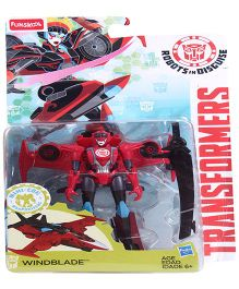 Transformers Funskool Windblade Action Figure - Red And Black