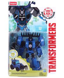 Transformers Funskool Thunderhoof Action Figure - Blue Black