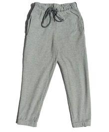 MTB Full Length Track Pants With Drawstring - Grey