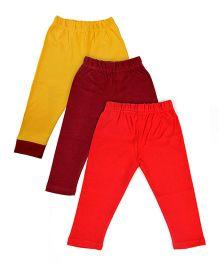 MTB Full Length Pajama Pants Multi Color - Set Of 3