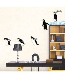Syga Jumping Penguins Decals Design Wall Stickers