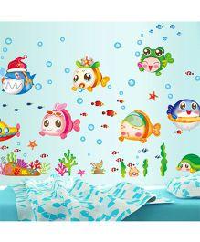 Syga Fish Wall Sticker - Multicolor