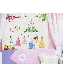 Syga Princess Wall Sticker - Multicolor