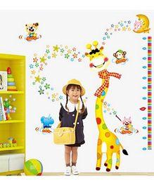 Syga Giraffe Wall Sticker - Multicolor