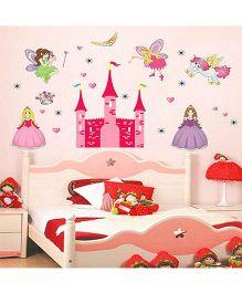Syga Decals 3D Dream Castle Wall Sticker - Multicolor