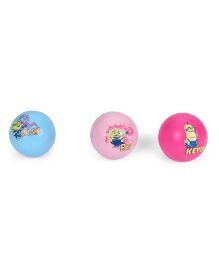 Minions PVC Scented Balls Set Blue Pink - 3 Pieces