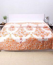 HouseThis Frida Costura Double Dohar - Orange