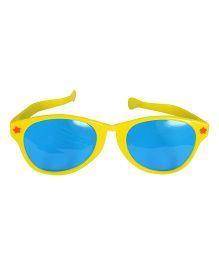 Funcart Jumbo Round Glasses Matte Finish - Yellow