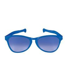 Funcart Jumbo Round Glasses Matte Finish - Blue