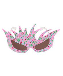 Funcart Polka Dot Cat Eyes Sunglasses - Pink