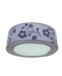 Funcart Flowers Ribbon 10 Yards - Purple