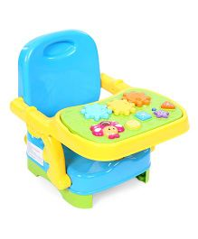 Winfun Musical Baby Booster Seat - Blue Yellow