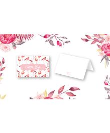Kaam Dekho Naam Nahi Flamingo Tales Gift Tags - Multicolour