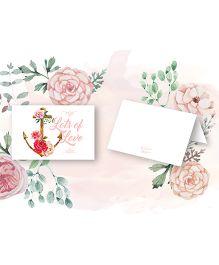 Kaam Dekho Naam Nahi Vintage Affair Gift Tags - White