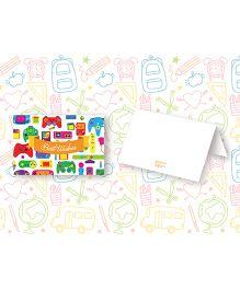 Kaam Dekho Naam Nahi Game Love Gift Tags - Multicolour