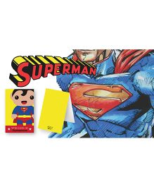 Kaam Dekho Naam Nahi Love Super Hero Gift Tags - Blue & Red